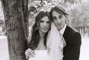 Paris wedding portrait
