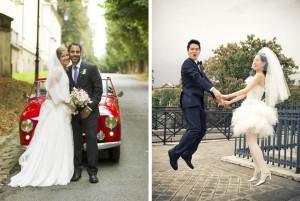 English speaking wedding photographer in Paris