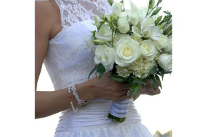 Bridal bouquet Paris France