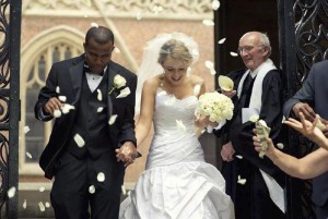 American church wedding photography