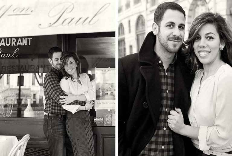 Paris honeymoon photo session