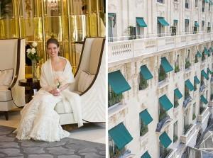 Paris elopement photographer peninsula hotel