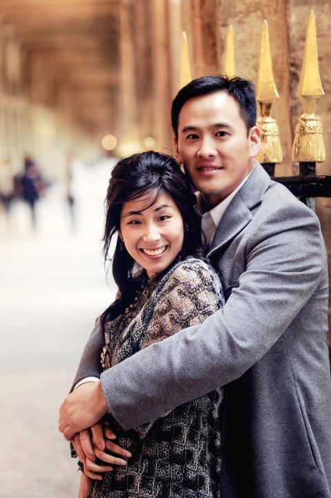 Honeymoon photography Paris