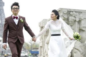 Paris wedding photographer elopement