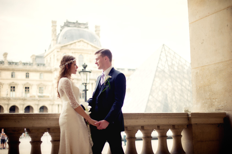 honeymoon photo session Paris