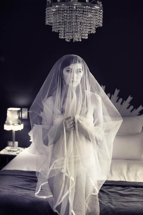 Paris bridal photo session