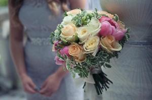 Wedding bouquet Paris France