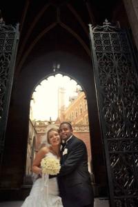 American church paris wedding photography