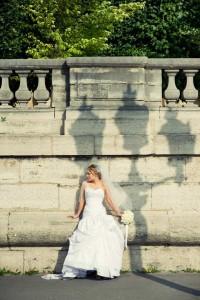 Paris style shoot wedding photography