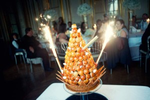 croque en bouche wedding cake paris