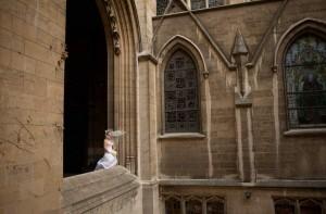 Paris wedding ceremony the american church