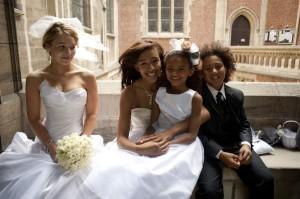 American church ceremony Paris wedding