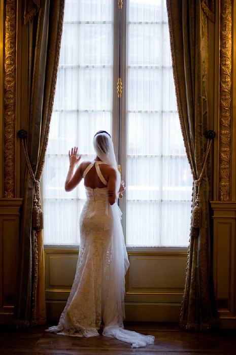 Paris shangri-la hotel portrait of a brie