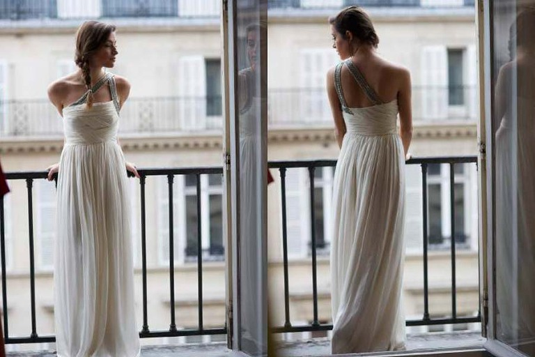 Paris rent a couture wedding gown for your style shoot for Rent wedding dress london