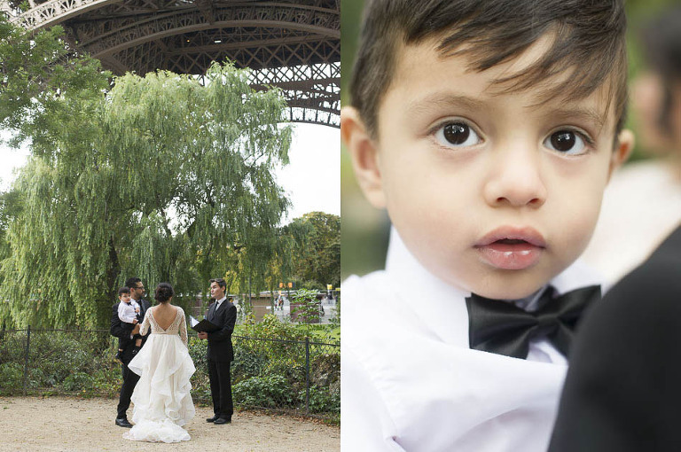 elope in Paris wedding officiant