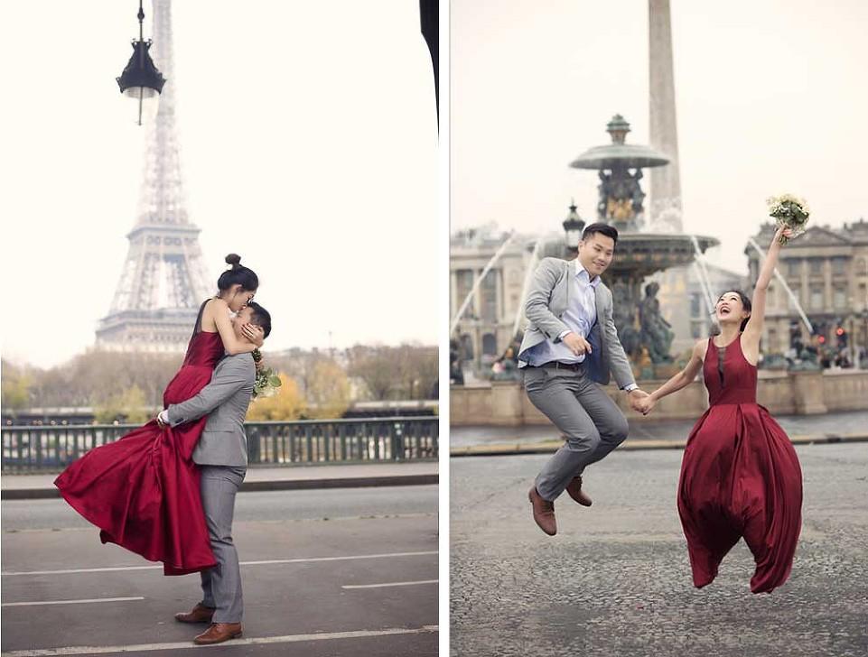 Pre wedding photographer paris