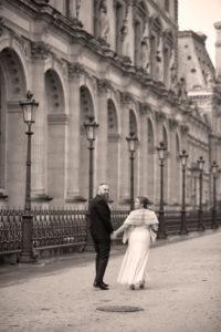 paris winter elopement