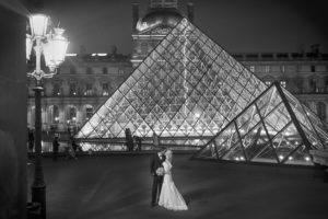 louvre night photography