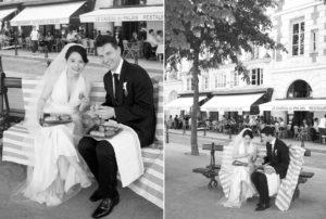 Paris wedding picnic photography