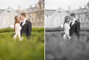 louvre wedding photography