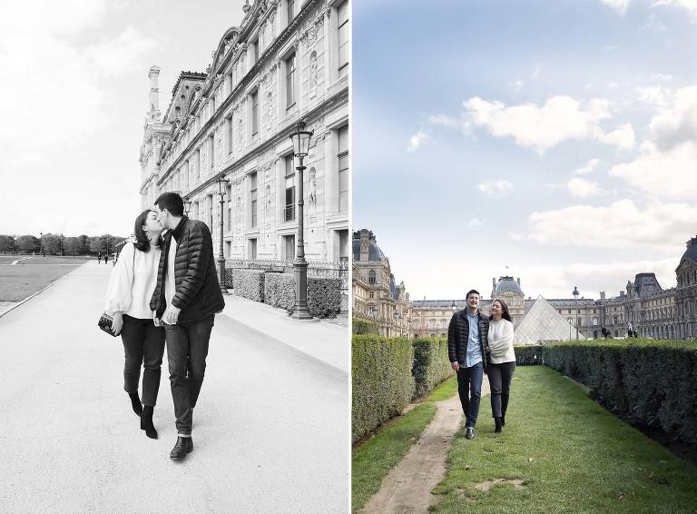 Louvre engagement