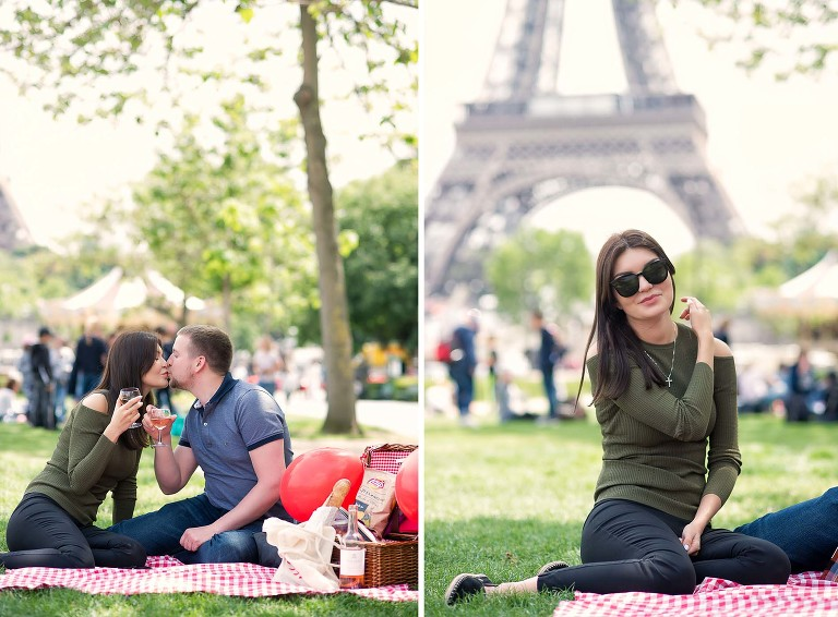 eiffel tower proposal photographer