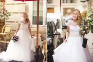 Paris romantic wedding