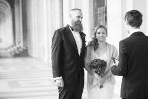 le louvre elopement ceremony