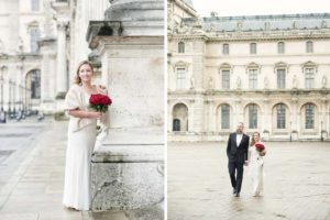 Paris romantic wedding elope