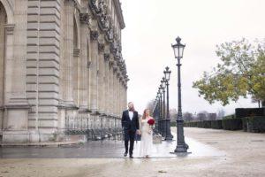 Louvre elopement photographer