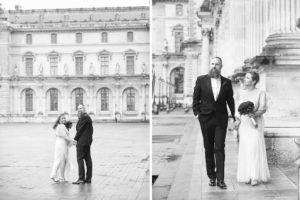 le louvre elopement photographer